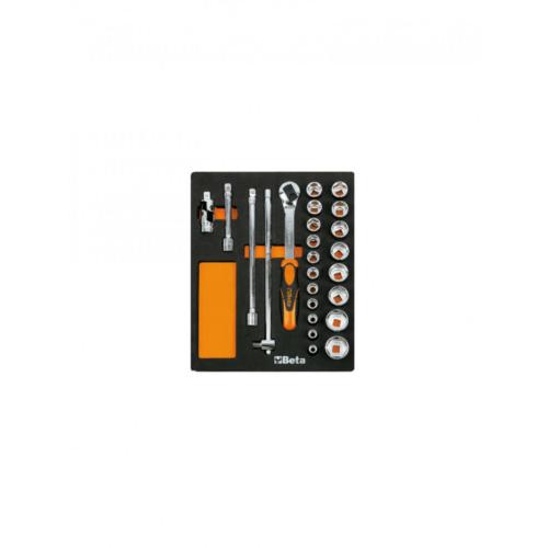 BETA-M-83-szerszámkészlet-24-részes-tálcás-024500083