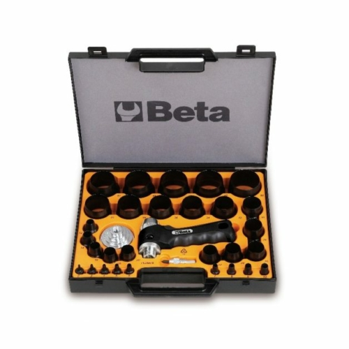 BETA 1105c/29t 29 darabos tömítéskivágó készlet, ø 2-50 mm