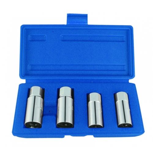 4 részes tőcsavarkiszedő készlet 1/2˝ 9TD014MR KINGTONY
