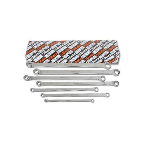 BETA 88/s7 7 darabos kettős egyenes extrahosszú sokszögkulcs készlet