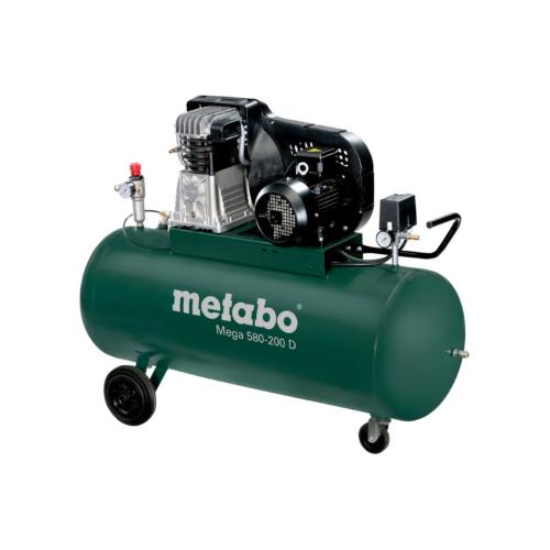 METABO MEGA 580-200 D Olajkenésű 2-hengeres kompresszor
