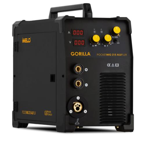 IWELD-GORILLA-POCKETMIG-215-ALUFLUX-hegesztő-inverter-80POCMIG215