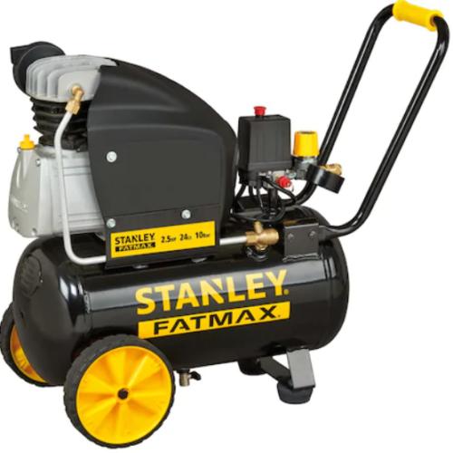 STANLEY Kompresszor 2,5HP/1,8KW, 10 BAR, 24 liter  (D261/10/24)