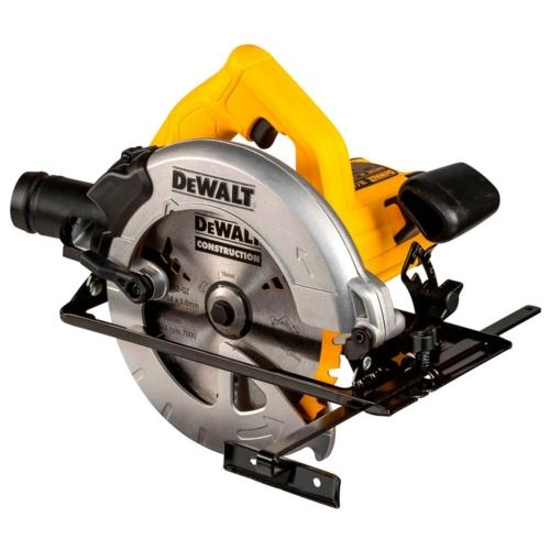 DEWALT DWE560K-QS Körfűrészgép, 1350W/65mm
